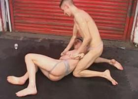 Wrestling Twinks Bareback