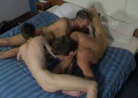 Sex Crazed Twink Threesome